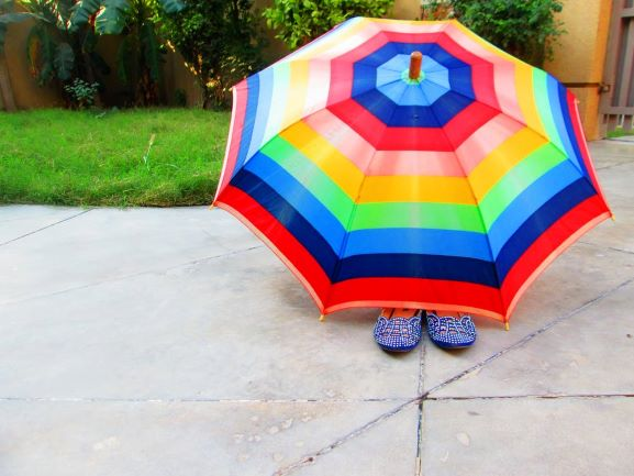 Consciously Living - Your NZ Wellness Directory - rainbow umbrella